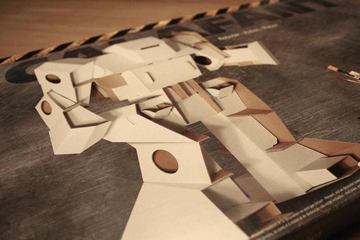 Cardboard Robots Name Stunning Cardboard Robot